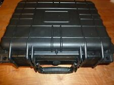 "14"" Black Tactical Weatherproof Photography Equipment/Gun Case w/Foam Insulation"