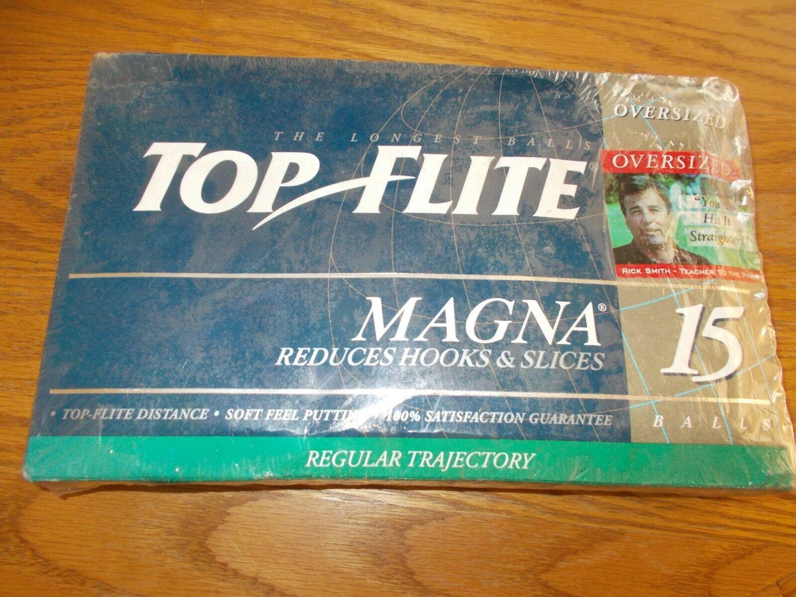 Top Flite Magna 15 Bolas De oro Nuevo Sellado   distribución global