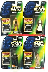 Star-Wars-Kenner-POTF-Freeze-Frame-Leia-Vader-Luke-Obi-Wan-1997-Sealed