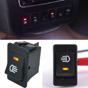Details about 4-Pins 4 wire LED On/Off Rocker Toggle Switch Driving Fog  Lamps/Work Light Bar