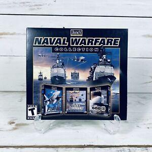 Jane's Naval Warfare Collection Big Box PC CD-ROM Video Games