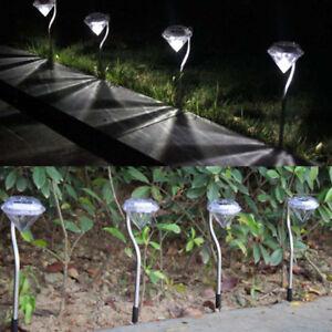 LED-Farbwechsel-Outdoor-Solar-Diamant-Pfahl-leuchtet-Garten-Rasen-Lampen-deTPI