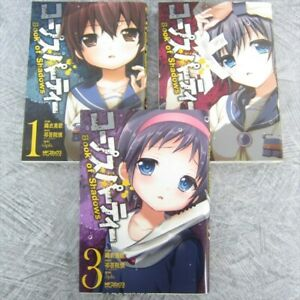Corpse Party Book Of Shadow Manga Comic Complete Set 1 3 Mika Orie