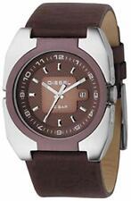 Diesel Quartz Brown Leather Strap Mens Watch DZ1150