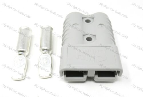 SMH Gray Housing Breakaway Connector 350A-600V 2//0 Single Connector With Contact