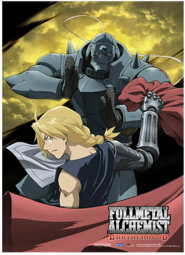 Fullmetal Alchemist Brotherhood Moon Fabric Poster
