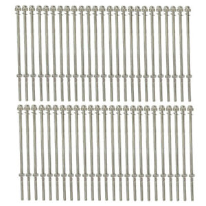 """T316 Stainless Steel 7-5//8/"""" Long End Fitting Cable Railing 1//8/"""" Cable"""