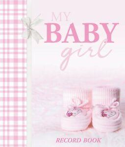 My-Baby-Girl-Record-Keepsake-Journal-Photo-Birth-To-Seven-Years-Gingham-Booties