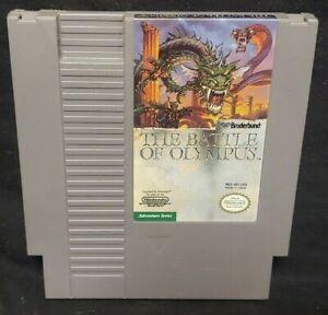 THE BATTLE OF OLYMPUS - Nintendo NES Game Rare Tested Authentic Original