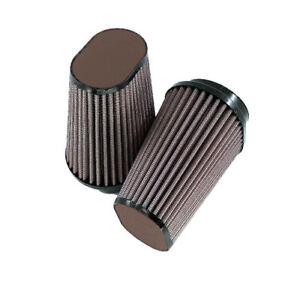 DNA-Filter-Oval-62mm-Inlet-147mm-Length-Leather-Top-DB-PN-OV-6200-120-L-DB-SET