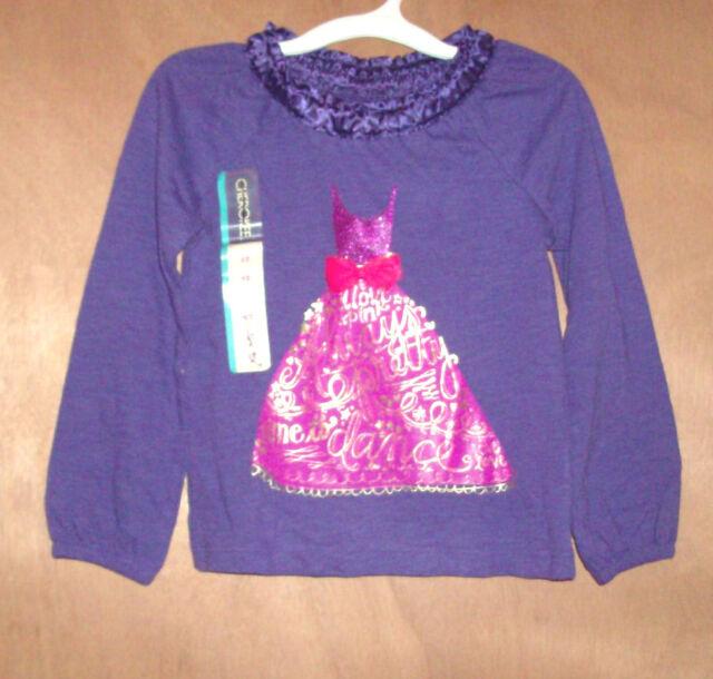 Cherokee girl/'s shirt nwt size 3t