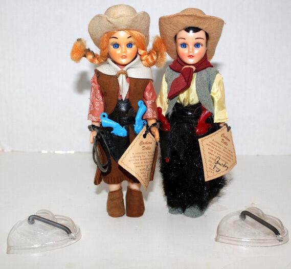 Cochelson vaquero occidental de los ojos de sueño U.s.a. Boy & Girl Figuras De Muñecas Y Accesorios