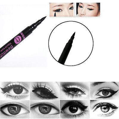 New Fast Dry Black Eyeliner Waterproof Liquid Make Up Pencil Comestics Eyeliner