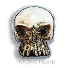Gürtelschnalle Metall Skull Buckle Punk Rock Biker Gürtel GS026