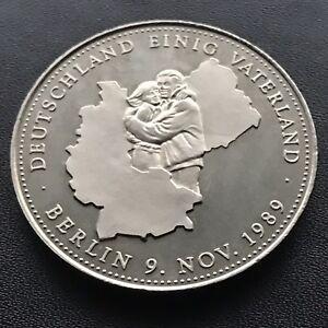 Medaille 1990 Deutschland Berlin 9 Nov 1989 Deutschland