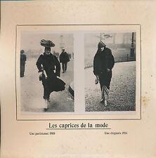 PHOTO PRESSE c. 1910 - Mode: Évolution des Styles  Paris - 217