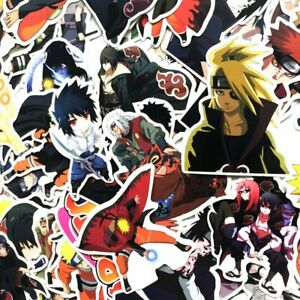Detalles De 63pcslot Naruto Sasuke Itachi Sakura Dibujos Animados Anime Manga Pegatinas Para Gagets Ver Título Original