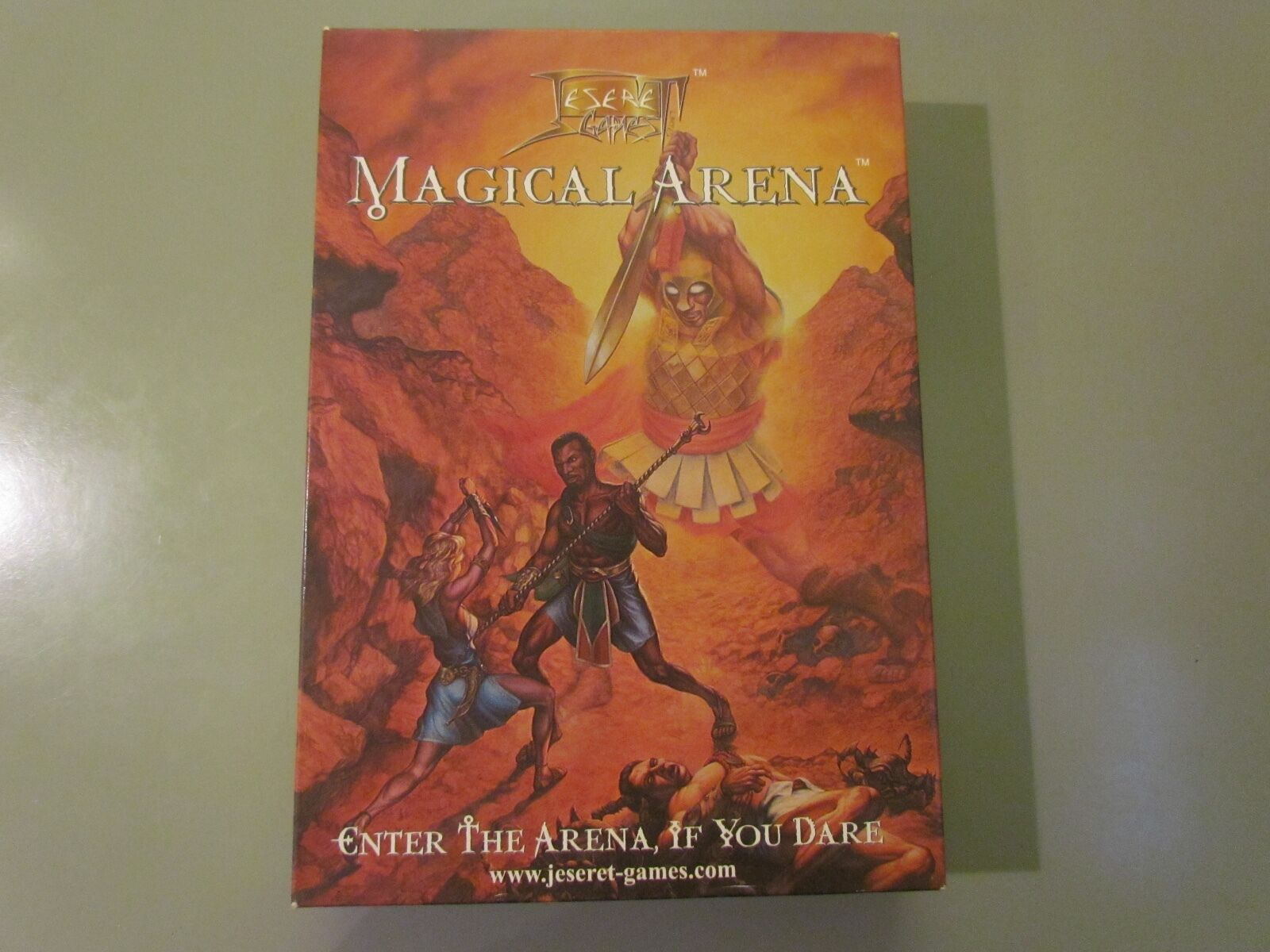 JESERET MAGICAL ARENA BOARD GAME COMPLETE 2003 RARE EXCELLENT CONDITION