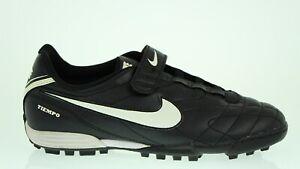 Bien Informé Nike Jr Tiempo V2 Ft 366210 Scarpa Calcio Calcetto Col Nero Tg 38 Brillant En Couleur