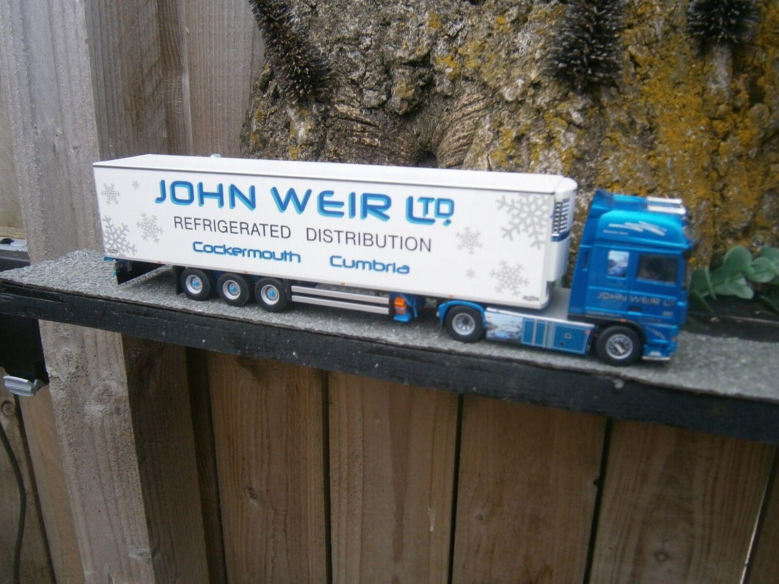 Tekno John Weir trasporti pesanti trasporto 1.50 scala non CORGI o WSI
