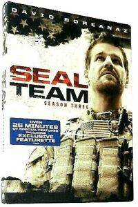 Seal-Team-Season-Three-3-DVD-2020-New-amp-Sealed-FREE-Shipping