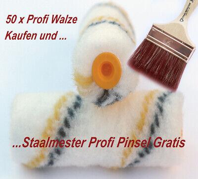 10 x Profi Walzen 10cm für Gelcoat 2K-Epoxidharz Boot Grundierung Farbe