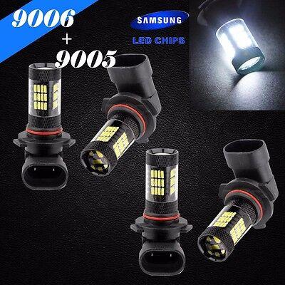9006-HB4 Samsung LED 57 SMD Super White 6000K Headlight Light Bulb #Lb3 Low Beam