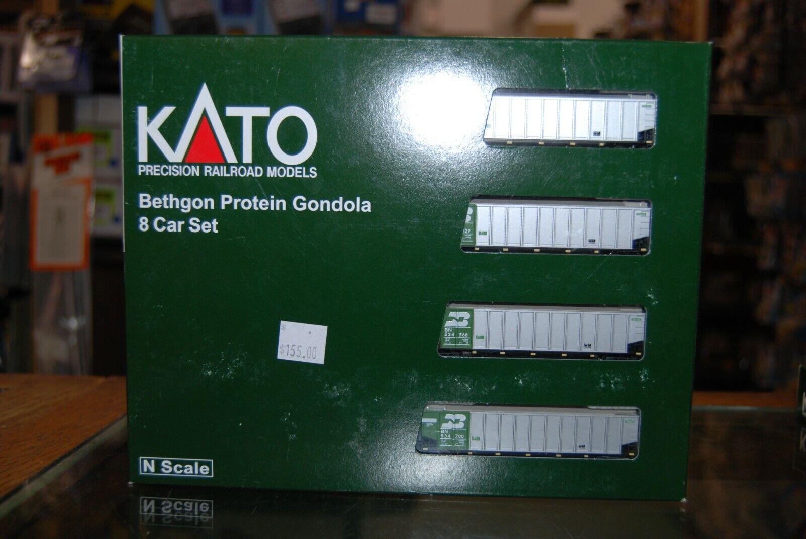 N skala Kato 106 -4651  Bethgon Prödein Gondola, BN Bil Set