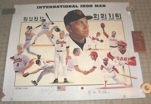 June-1996-INTERNATIONAL-IRON-MAN-22-034-x-27-034-POSTER-Cal-Ripken-JR-KINUGASA
