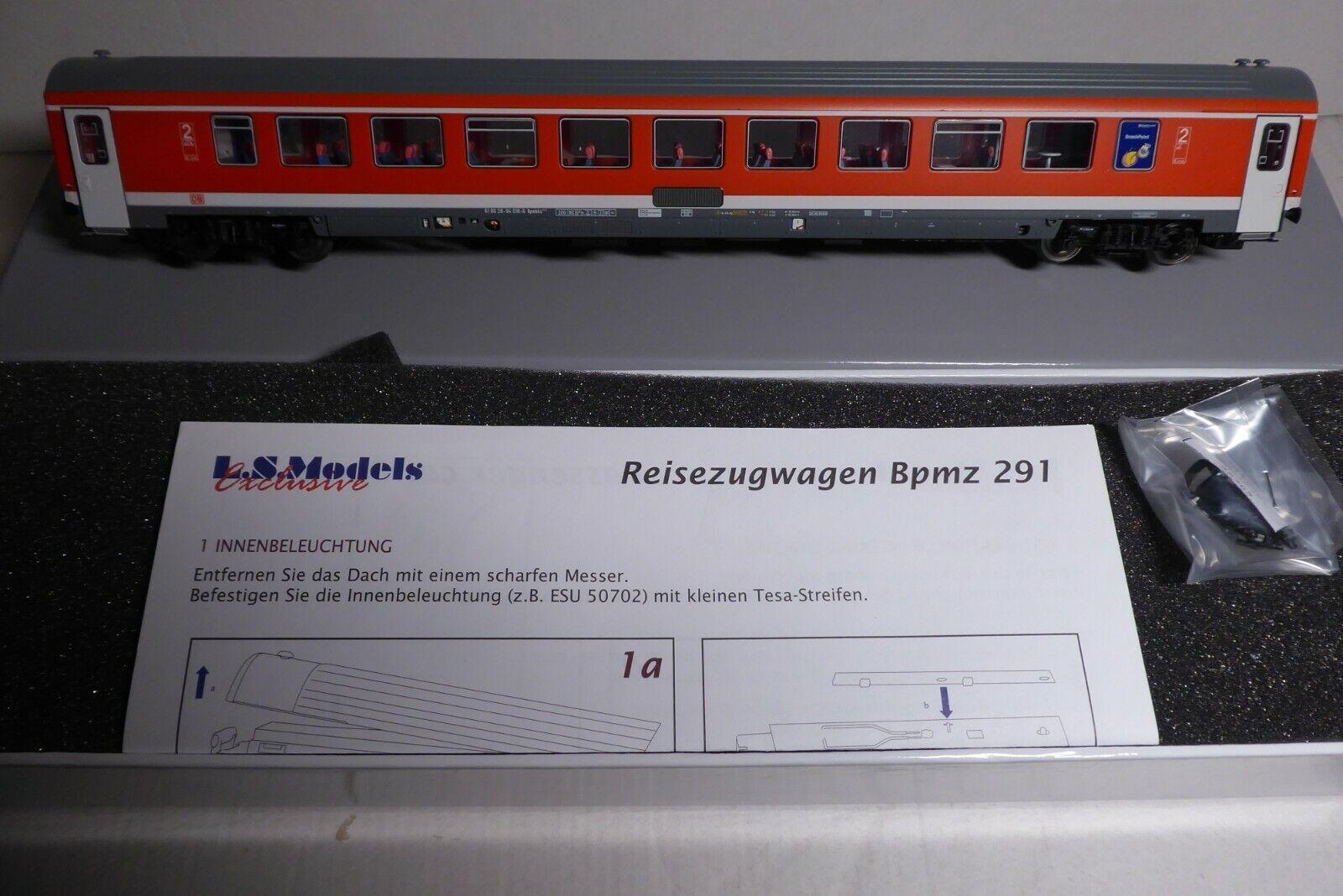 LS MODELS 46265 H0 2.Klasse Großraum IC-  IR-Wagen DB AG Bpmbkz