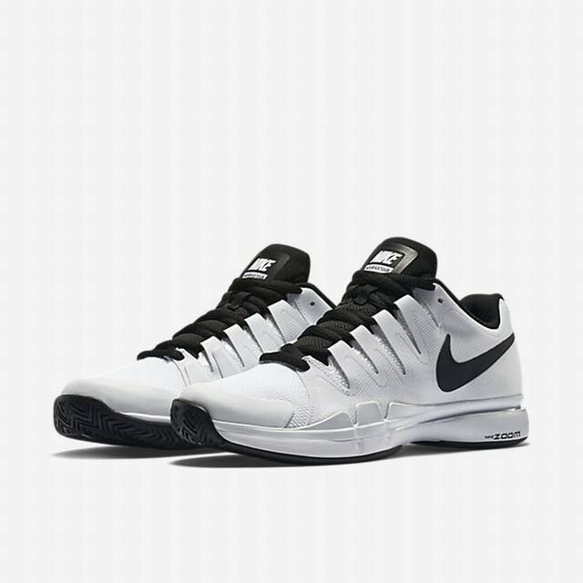Men's Nike Zoom Vapor 9.5 Tour Tennis Shoes - White/Black - NIB!