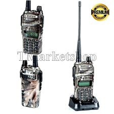 Handheld Radio Scanner 2-Way Digital Antenna Transceiver Police Portable -CAMO