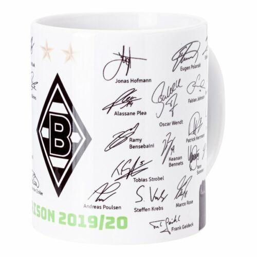 Borussia Mönchengladbach Unterschriftentasse 19//20
