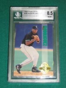 Details About 1993 Classic Four Sport Alex Rodriguez Rookie Card Bgs 85 With 1 95