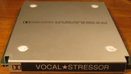 VOCAL✮STRESSOR...MODIFIED DOLBY Cat22 Series 4