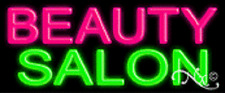 "BRAND NEW ""BEAUTY SALON"" 24x10 REAL NEON SIGN W/CUSTOM OPTIONS 12015"