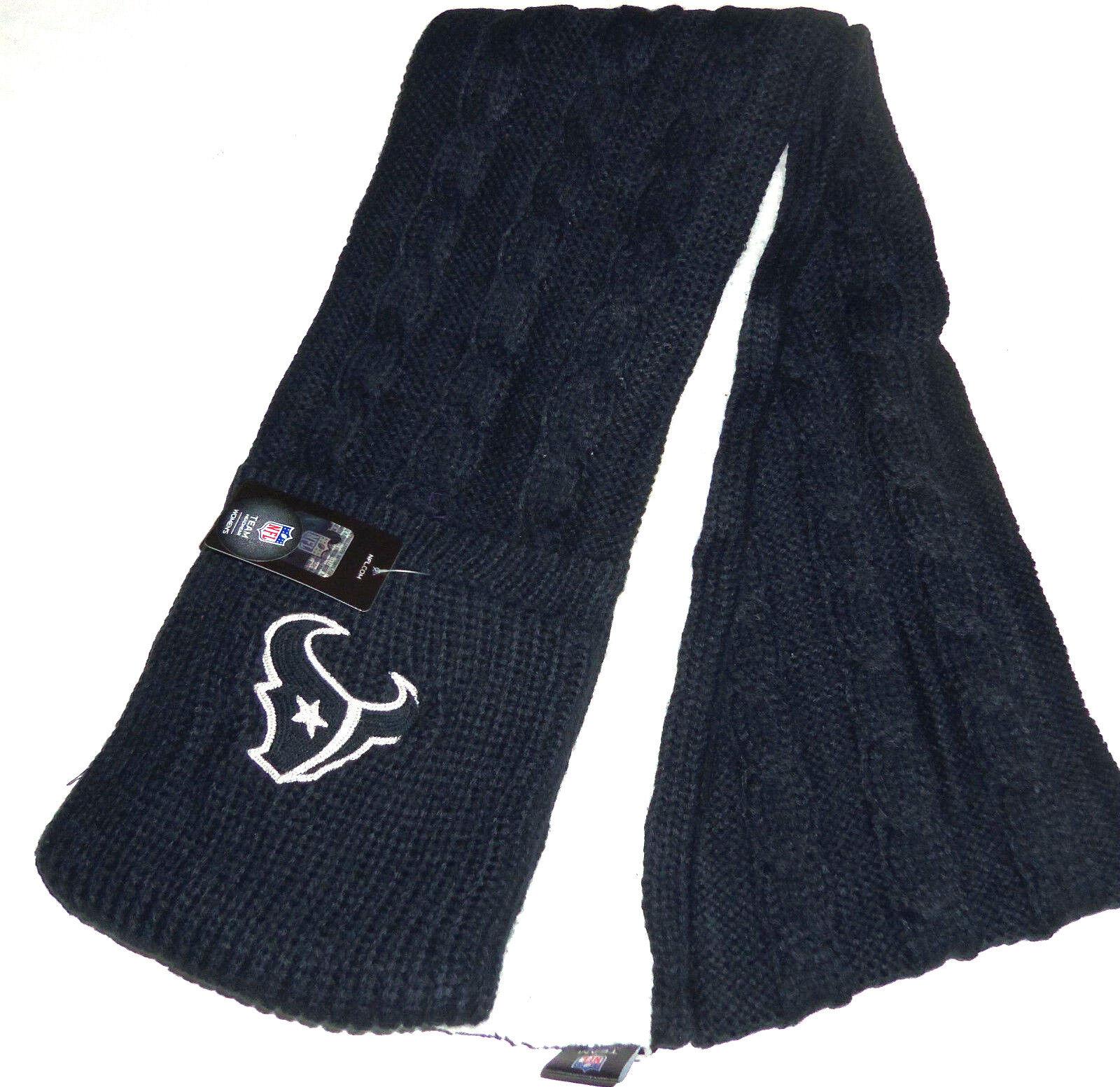 NFL Schal Taschen Gestrickte Fleece Fleece Fleece Fußball Winter Kopfbekleidung 6fb243