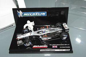 Minichamps F1 1/43 McLaren Mp4 / 17 Michelin Édition Limitée 528 Pcs Coulthard