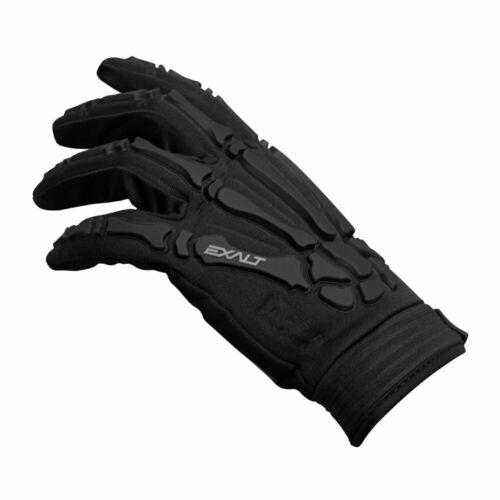Paintball X-Large Exalt Death Grip Gloves Full Finger Black