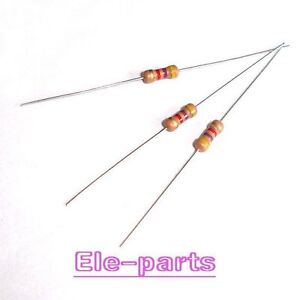 1000 PCS 0.25 WATT 330 OHM 330R CARBON FILM RESISTOR 1/4W 5%