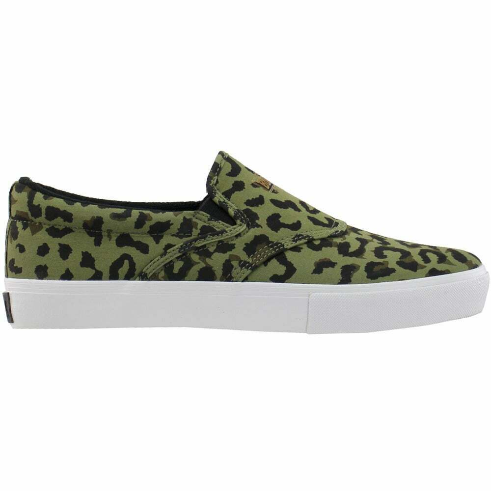 Diamond Supply Co. Boo J Slip On Mens Sneakers Shoes Casual - Brown