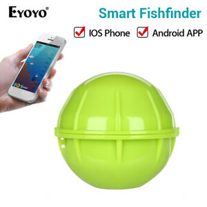 Angle Finder App >> Eyoyo Smart Bluetooth 125khz Sonar Fish Finder App 90 Wide Angle