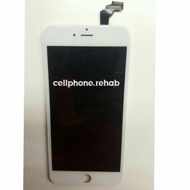 official photos 0bc60 a99dd OEM Apple Original iPhone 6 Plus White Screen Replacement LCD Digitizer