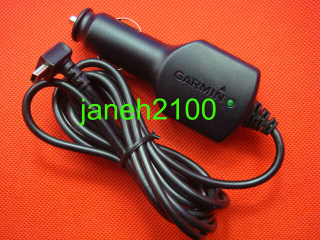 Genuine Garmin NUVI 2460 2455  2495LMT GPS Vehicle Power Cable/Cord Charger 12V