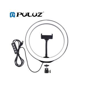 SALE! PULUZ PU392 6.2 inch LED Ring Light in Round Base Desktop Mount - Black
