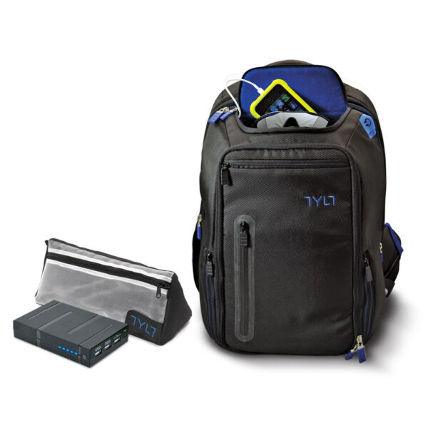 TYLT Energi Backpack With 10 400mah Built-in Battery for sale online ... 215dfb7159919