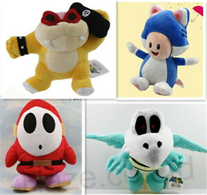 Super-Mario-Bowser-Shy-Guy-Dry-Bones-Toad-Plush-Toy-Baby-Soft-Toy