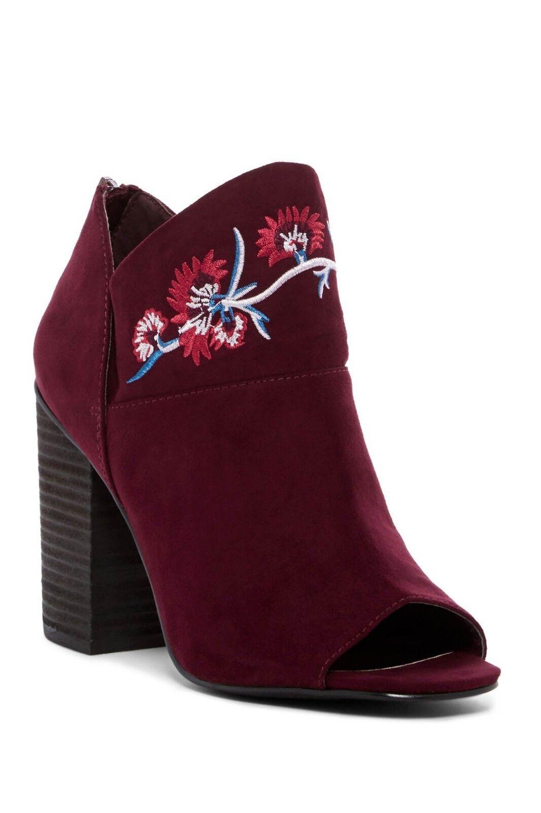 New Carlos by Carlos Santana Jazlyn Women Peep-Toe Boots size 7