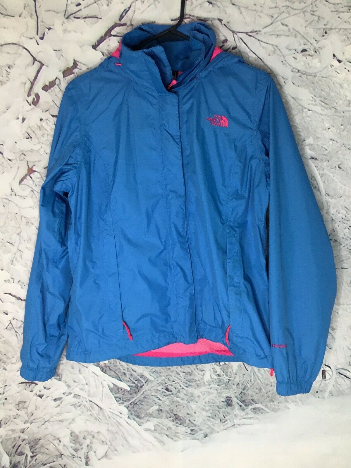 The North Face Womens Hy-Vent Full-Zip Utility Ski Light Active Hiking Jacket M