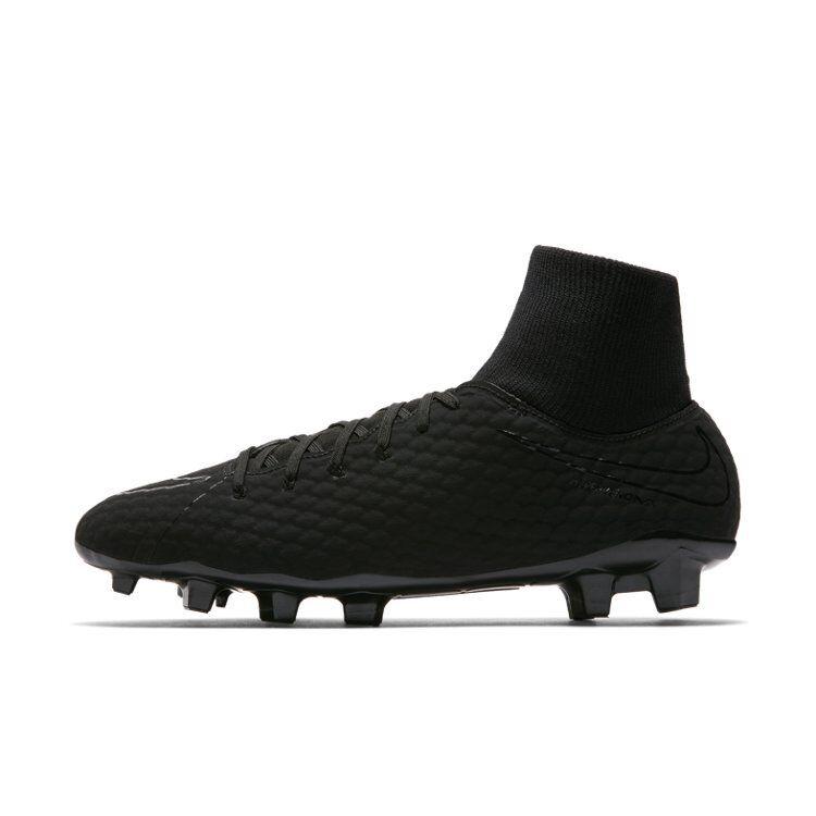 Nike Hypervenomx Phelon III 3 Df Fg Hombre Fútbol Zapatos 917764-001 Precio
